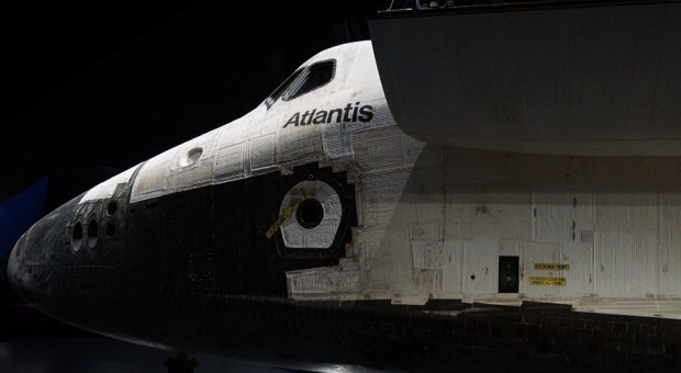 Das Shuttle Atlantis