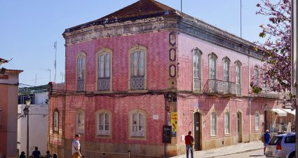 Kachelfassade in Silves