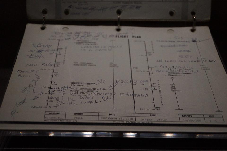 Die original Flugpläne der Apollo Mondmission!