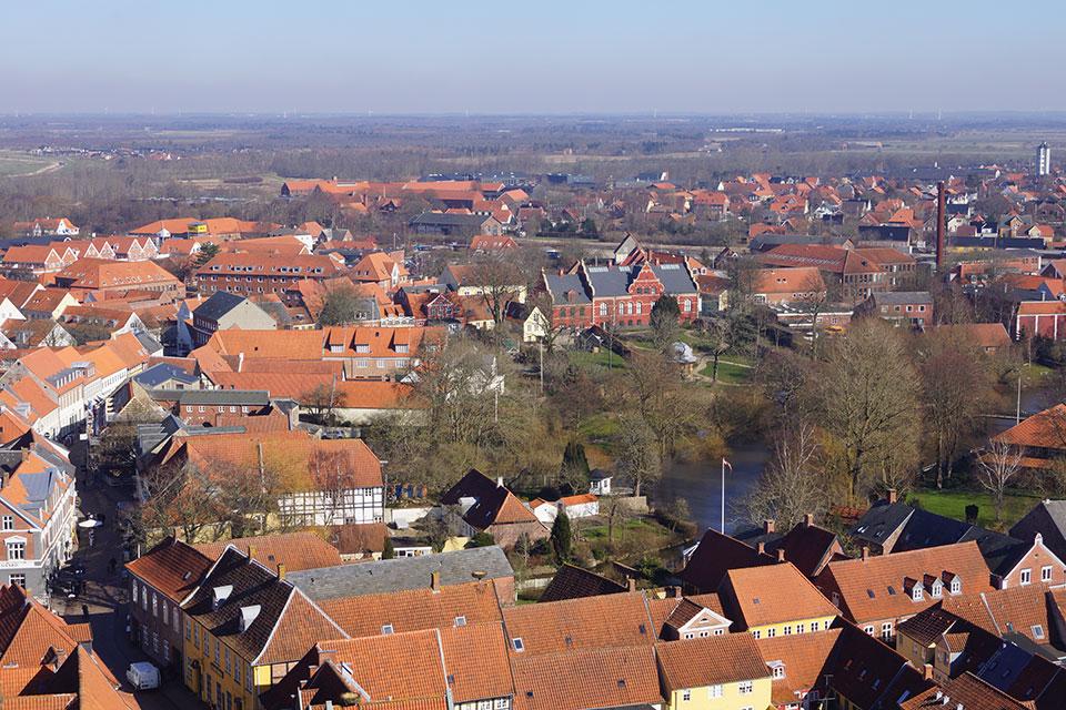 Blick vom Nordturm des Doms