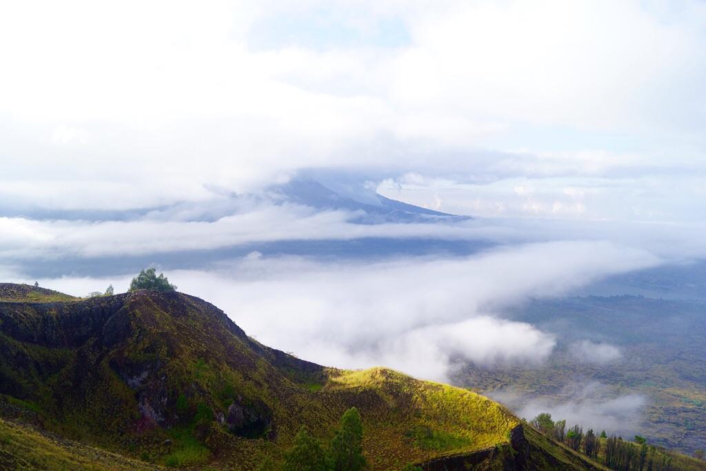Blick auf den Vulkan Agung (3142m)