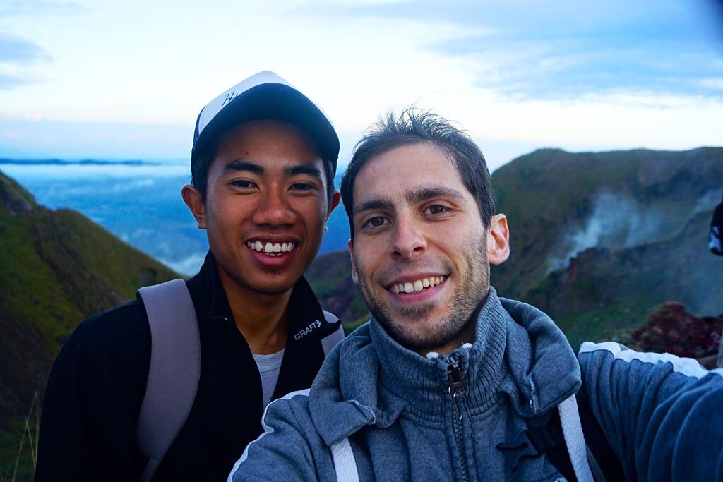 Gipfelstürmer: Mein Guide Edi und ich