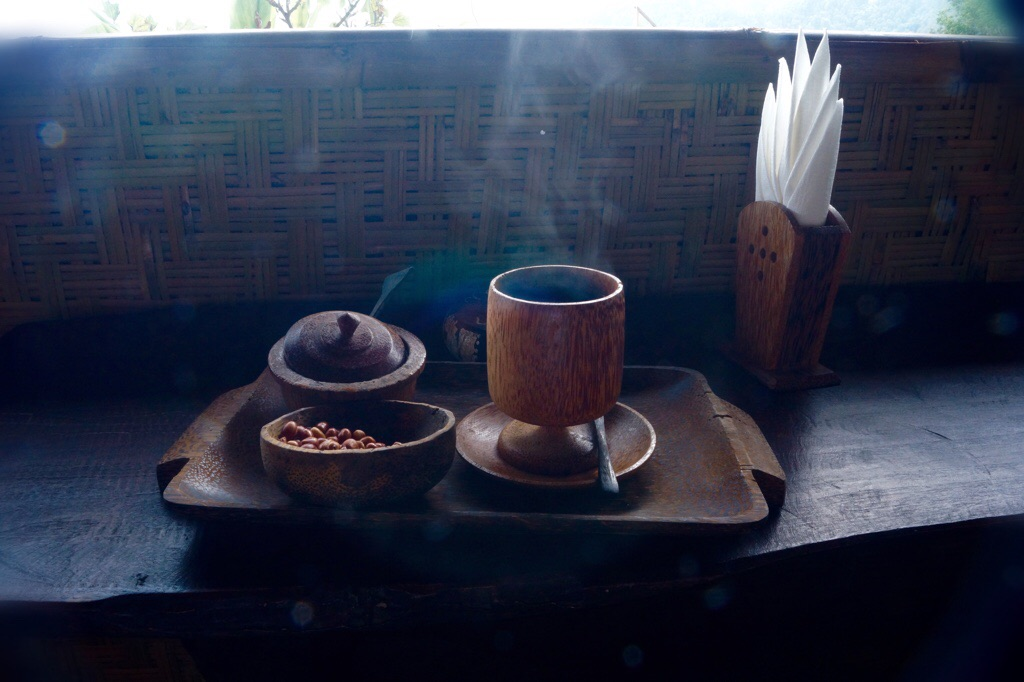 Eine Tasse Lufa Kaffe ...