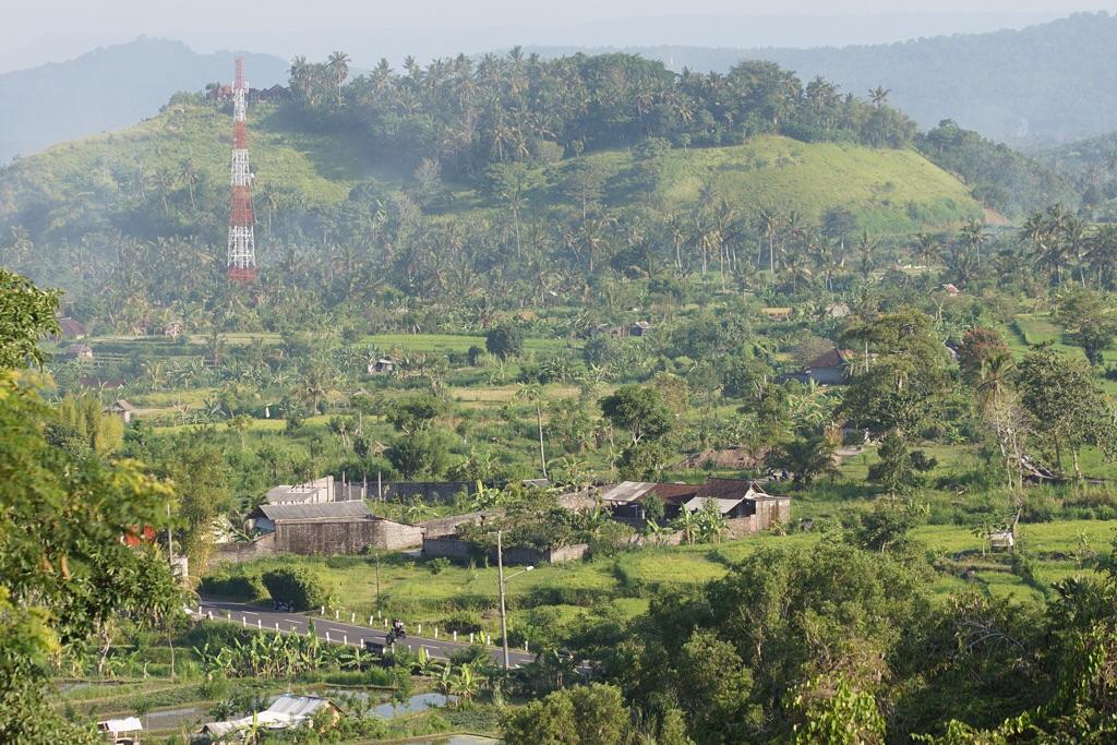 Balis Hinterlande im Süd-Osten
