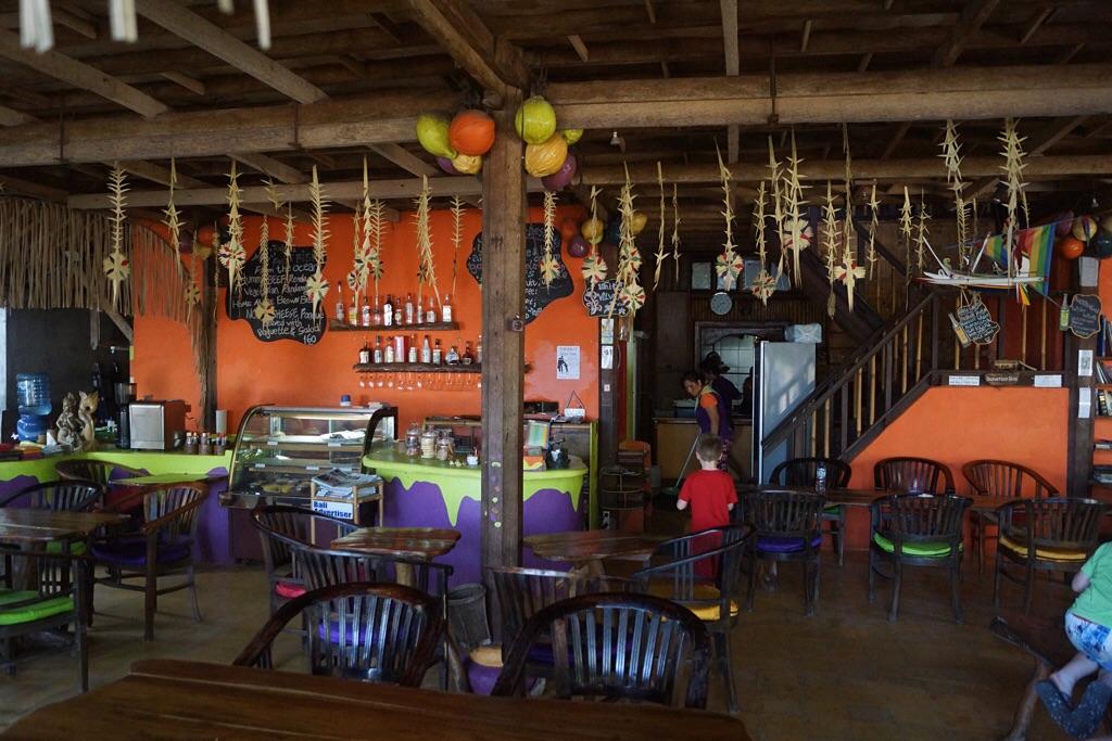 Das Restaurant des Topi Inn (Padangbai)