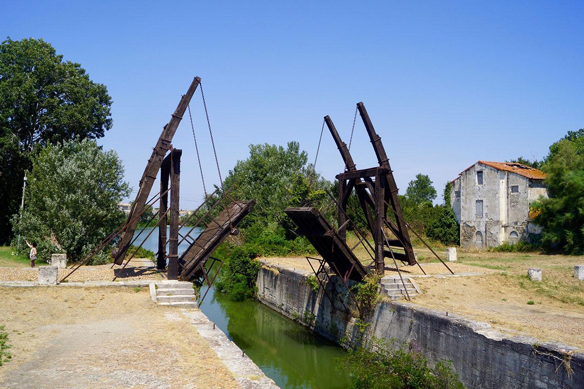 Van Gogh Brücke in Arles