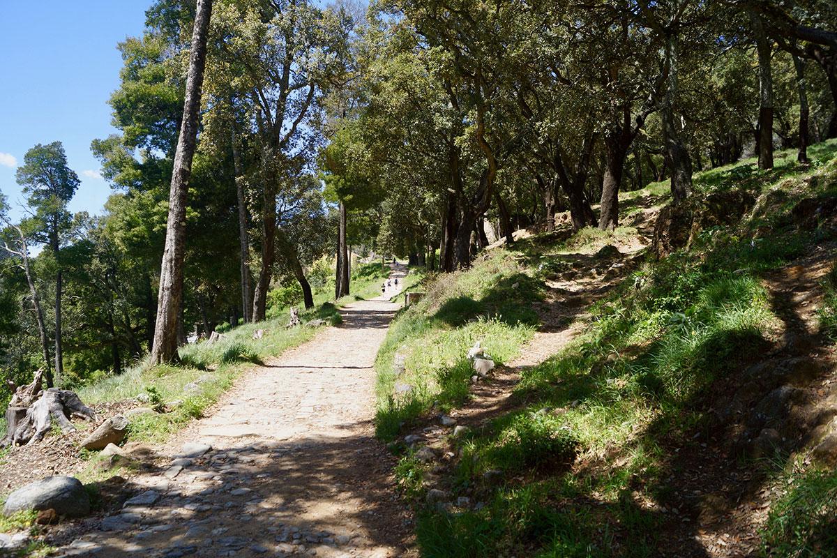 Wanderweg von Mochique nach Fóia