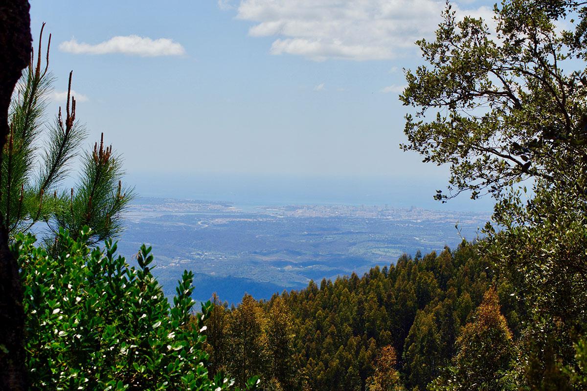 Ausblick auf Portimāo