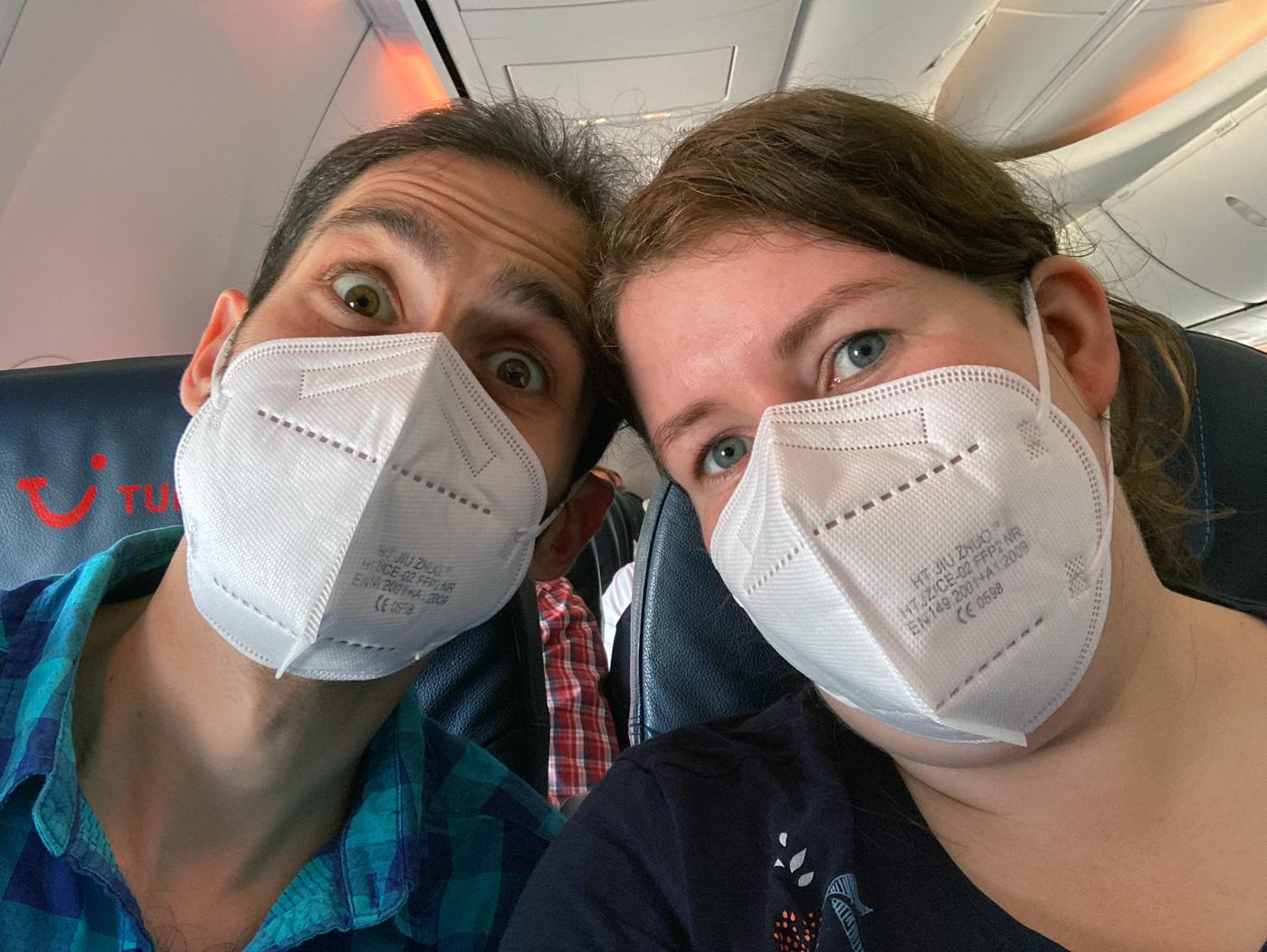 Anreise Madeira - Mit FFP2 Masken